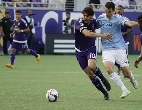 Orlando City não teve vida fácil na estreia da MLS Foto: Johan Raoux / AP