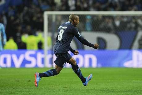 Brahimi abriu o placar para o Porto no Estádio do Dragão Foto: Paulo Duarte / AP