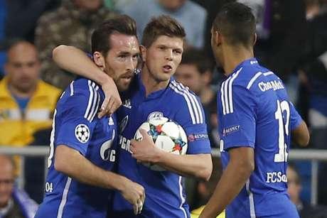 Schalke 04 deu trabalho para o Real Madrid na Espanha Foto: Daniel Ochoa de Olza / AP