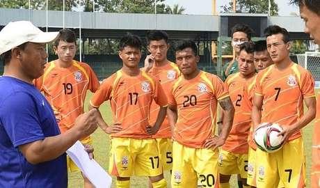Seleção butanesa tenta quebrar longo jejum para deixar lanterna do ranking da Fifa Foto: Fifa / Divulgação
