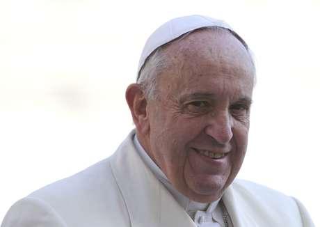 Francisco comemora dois anos de papado nesta sexta-feira, 13 de março Foto: Stefano Rellandini / Reuters