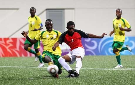 Zimbábue é a primeira seleção desclassificada da Copa Foto: Andre Kalselik / Getty Images