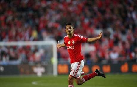 Brasileiro Jonas balançou a rede diante do Braga Foto: Rafael Marchante / Reuters