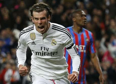 Bale foi destaque em vitória do Real Foto: Andrea Comas / Reuters