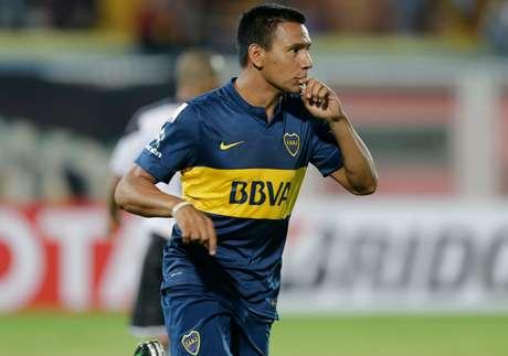Time argentino venceu os 4 jogos que fez até aqui na Libertadores Foto: Fernando Llano / AP