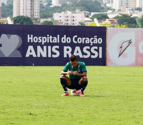 Foto: Rosiron Rodrigues/Goiás EC/Divulgação / Divulgação