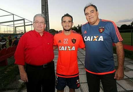 Foto: Carlos Ezequiel Vannoni/Site Oficial do Sport Recife/Divulgação / Divulgação