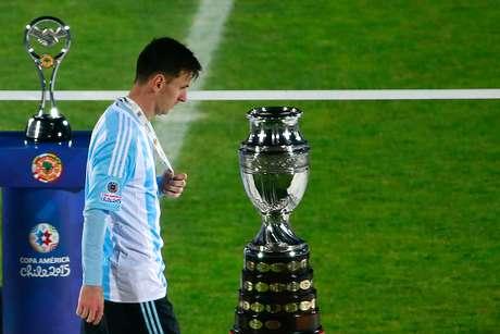 """Calendário cheio fez Tata Martino """"poupar"""" Messi das Olimpíadas"""