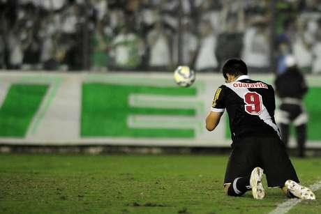 Herrera realizou 16 jogos pelo Vasco e marcou apenas um gol