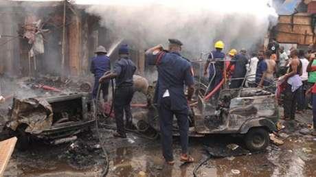 Foto: Nigeria Newsdesk / Reprodução / Twitter