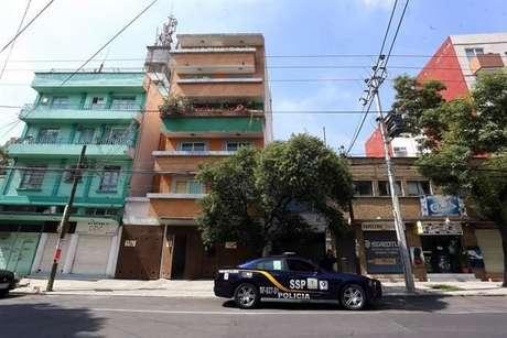 El edificio número 1909 de la Colonia  Narvarte, donde fue cometido el asesinato.