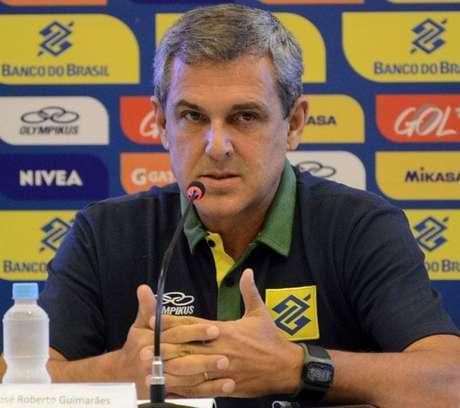 Coletiva da Seleção Feminina, técnico Zé Roberto Guimarães