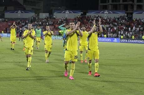 Dinamo venció en su partido.