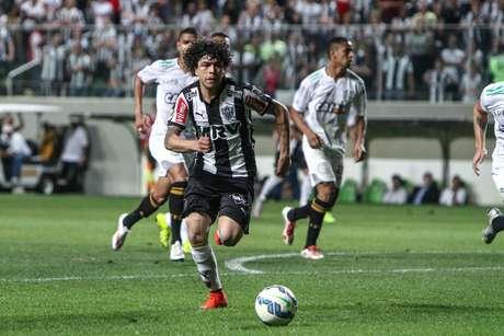 Atlético-MG, de Luan, escapou de derrota nos acréscimos do segundo tempo