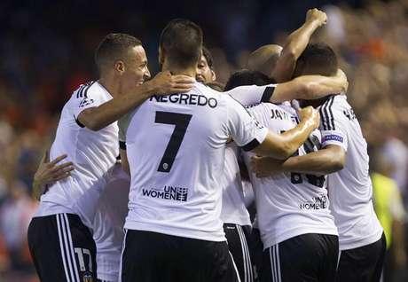 Valencia de España celebra su triunfo.
