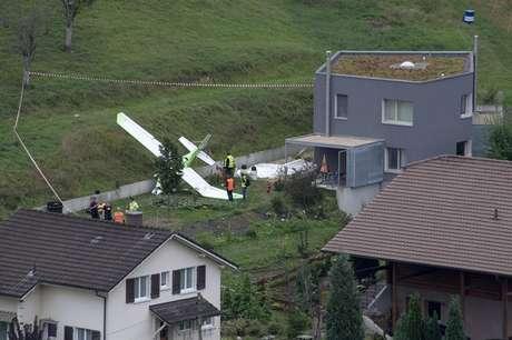 Piloto morre em acidente aéreo na Suíça