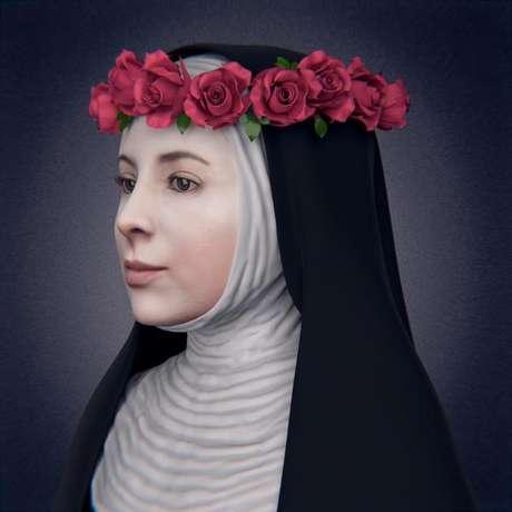 Este es el rostro original de Santa Rosa de Lima.