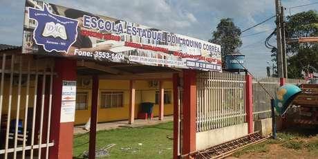 A briga ocorreu no pátio da Escola Estadual Dom Aquino Côrrea