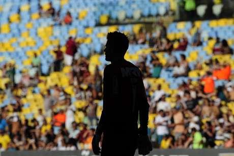 Goleiro Victor foi vazado, mas viu o Atlético-MG garantir os três pontos no segundo tempo