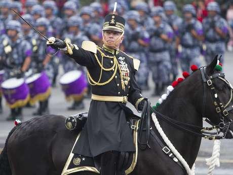La marcialidad es un elemento clave durante la conmemoración del 16 de septiembre.