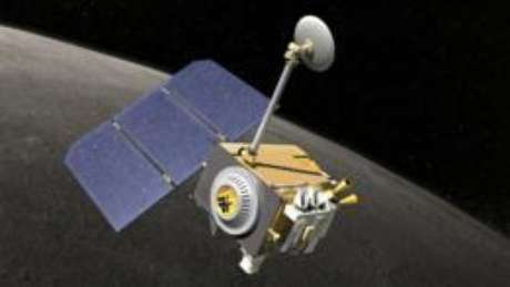 A nave Lunar Reconnaissance Orbiter foi lançada no espaço em 2009
