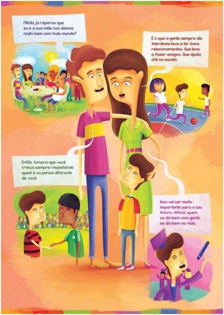 O objetivo é combater o preconceito e reduzir a violência gerada pela intolerância