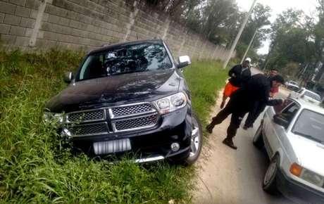 Ronaldinho Gáucho sofre acidente de carro no interior do Rio Grande do Sul
