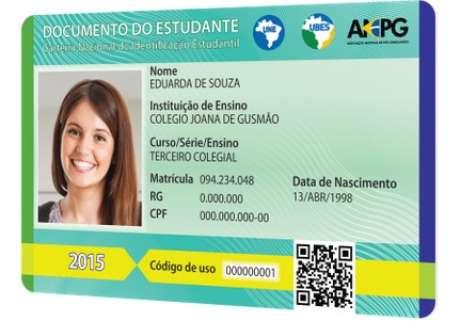 Nova Carteira de Identidade Estudantil possui padrão nacional