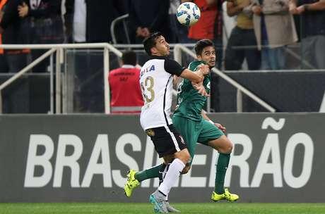 Coritiba fez grande segundo tempo e criou boas chances de gol