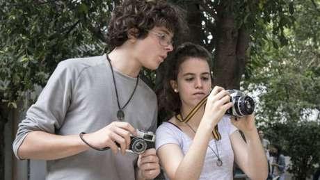 José e Julia pediram e fizeram aula de fotografia em escola técnica da zona Oeste de São Paulo