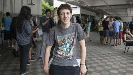 Teo Ferreira Dias agora quer mobilizar colegas para pedir aula de desenho