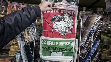Em janeiro, ataque ao 'Charlie Hebdo' deixou 17 mortos