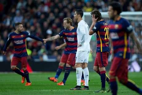 Cristiano Ronaldo teve uma partida para esquecer