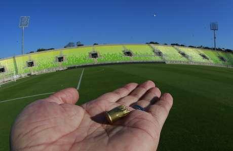 Hasta casquillos de bala se encontraron en el Estadio de Valparaíso.