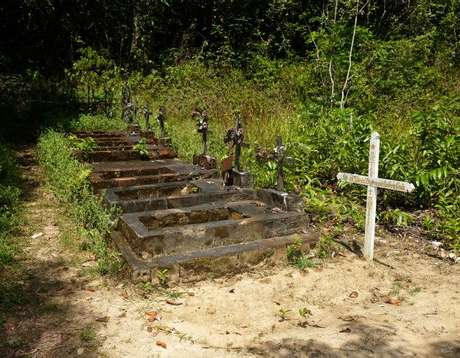 Gerações inteiras de famílias portuguesas estão enterradas na cidade