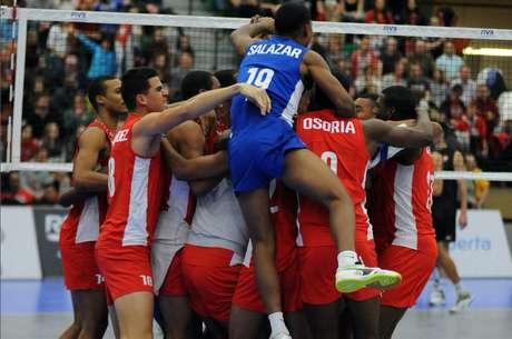 Seleção masculina de Cuba volta a disputa do vôlei olímpico após 16 anos