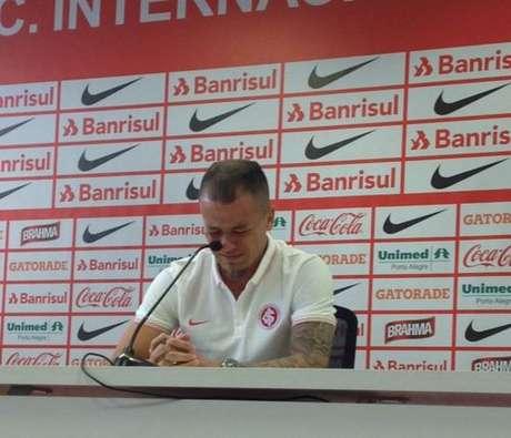 D'Alessandro se despediu do Internacional após quase oito anos no clube