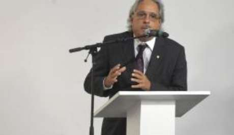 O presidente da Fiocruz, Paulo Gadelha participou da cerimônia que marca o início das transmissões dos canais do Poder Executivo na TV digital aberta no Rio