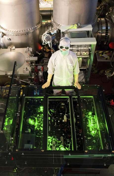 Detector de ondas gravitacionais na Alemanha