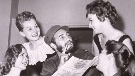"""""""Eu o amava, ele era uma pessoa fascinante"""", diz a ex-espiã sobre Fidel Castro."""