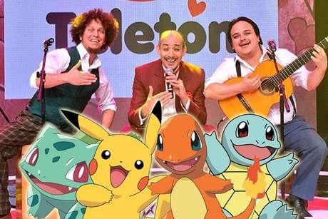 Los Juanelos Interpretaron Tema De Pokemon Teleton Peru Cantaron Video