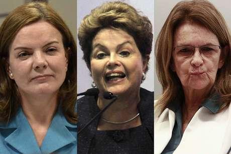 Gleisi quer Dilma e Graça Foster como testemunhas no STF