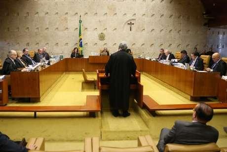 Brasília - Supremo Tribunal Federal (STF) julga envio da denúncia apresentada pelo ex-procurador-geral da República Rodrigo Janot contra Temer para a Câmara (José Cruz/Agência Brasil)