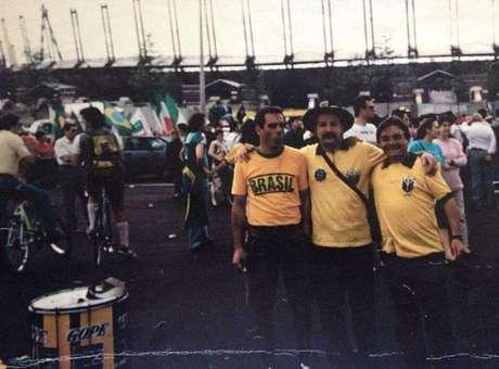 Primeira Copa de Clóvis foi a de 1990, na Itália Foto: Arquivo Pessoal