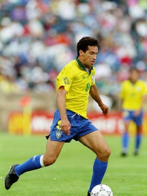 Artilheiro do Brasil na Copa do Mundo de 1986, Careca crê que o emocional dos jogadores brasileiros está muito abalado Foto: Getty Images
