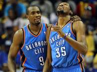 Ibaka y Durant Foto: Getty Images