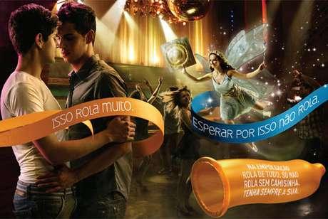 Campanha carnaval 2012 contra aids Foto: Ministério da Saúde / Divulgação