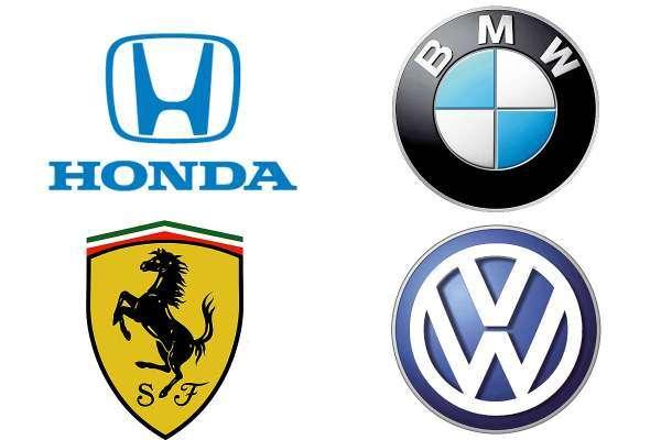 Fotos Logos y emblemas de las marcas de autos