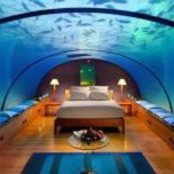 Lujoso hotel ofrece habitaci n bajo el agua for Hotel bajo el agua precio