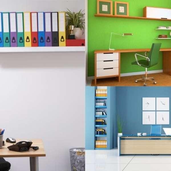 C mo crear una peque a oficina en casa for Como crear una oficina
